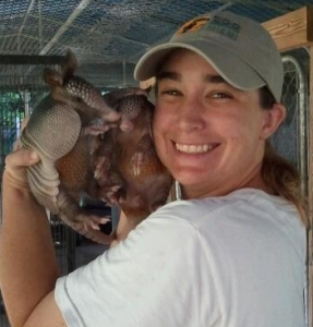 me with armadillos